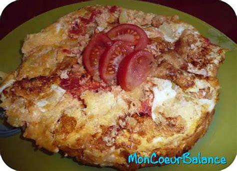 recette cuisine weight watcher recette de tortilla aux légumes weight watchers propoints