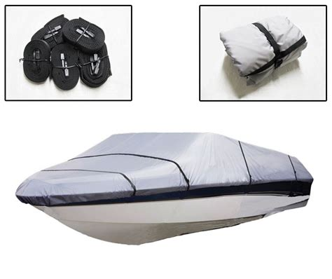 Boat Covers Direct Reviews by 16 18 5ft Bass Boat Cover Heavy Duty Fish Ski Pro Style