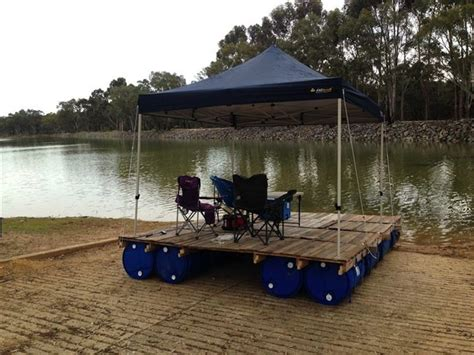 Diy Pontoon Floats by This Pontoon Project Is A For Any Diy Fan