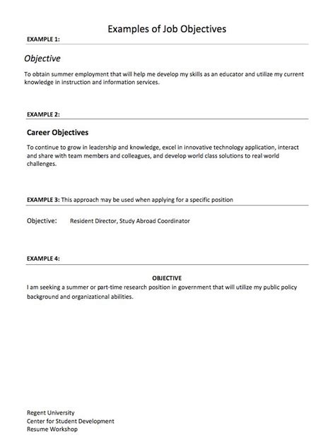 Practicum Resume Objective by 925 Best Exle Resume Cv Images On