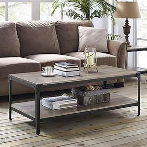 Manor, Park, 3-piece, Rustic, Coffee, Table, Set, -, Driftwood, -, Walmart, Com