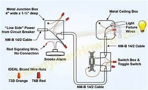 Mains Smoke Detector Wiring Diagram