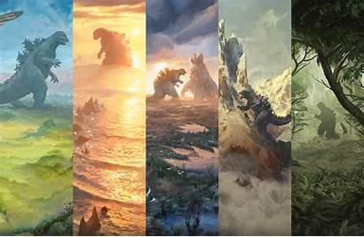 Godzilla Lair Secret Lands Five Japanese