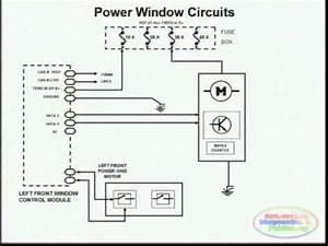 Power Window Wiring Diagram 2