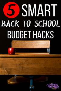Smart Points Budget Berechnen : 5 smart money saving back to school budget hacks queen of free ~ Themetempest.com Abrechnung