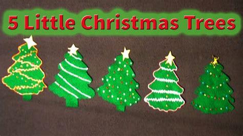 christmas tree songs for kids songs for children 5 trees littlestorybug