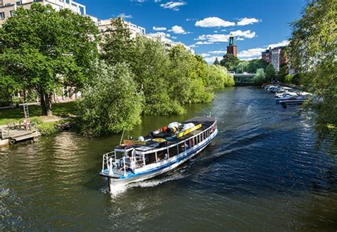 Stockholm Boat Tours by Historical Canal Tour Boat Sightseeing In Stockholm Sweden