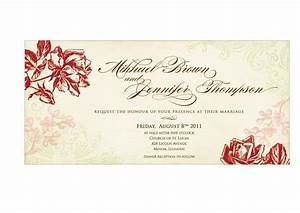 marriage invitation card format in word wedding invitation With a format of a wedding invitation