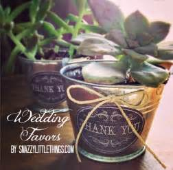 vintage wedding favors diy vintage succulent wedding favors snazzy things