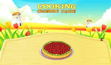 jeux de cuisine android délicieux gâteau de cerise jeux de cuisine amazon fr