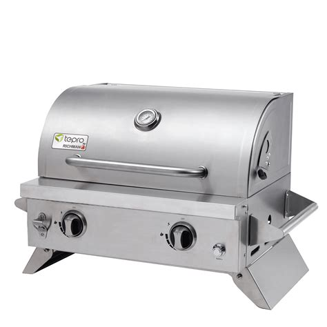 tepro gasgrill outdoor cooking tischgrill cleveland