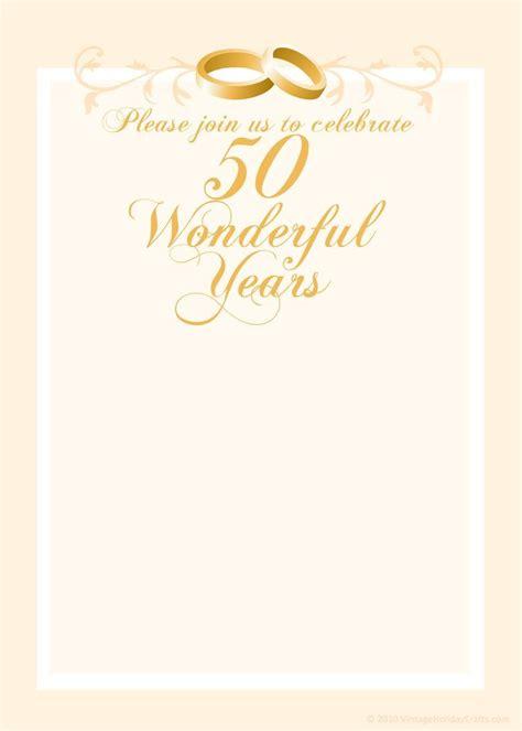 anniversary invitation templates  anniversary