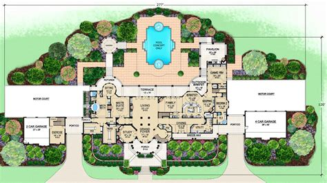 mansion plans mediterranean house plans with photos luxury modern floor