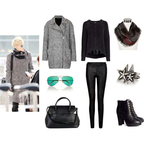 U0026quot;Exo Tao Airport Fashionu0026quot; by idresskpop on Polyvore | Korean/kpop airport fashion/style ...