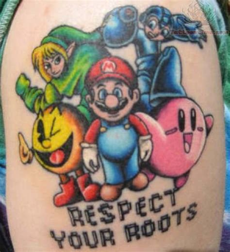 Video Games Tattoo Images And Designs