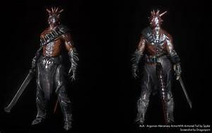 AmA - Argonian Mercenary Armor - With Armored Tail at