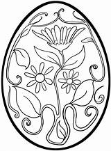 Easter Egg Coloring Printable Pages Print Cute Getcolorings sketch template