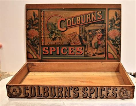 Keith colburn now manages the company, which was rebranded ced in 1964 by his father and family patriarch richard d. iCollect247.com Online Vintage Antiques and Collectibles - Colburn's Spices Display Box