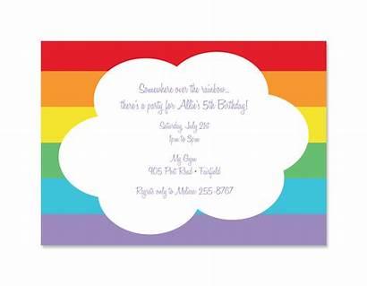 Invitation Invitations Blank Party Birthday Printable Clipart