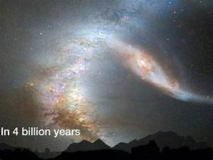 Crash of the Titans: Milky Way and Andromeda Galaxy - YouTube