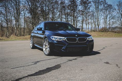 Bmw F90 M5 by Bmw F90 M5 Gets Hre P101 Wheels In Brushed Titanium