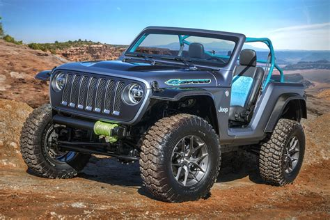 Jeep Truck Concept by Easter Jeep Safari Concepts Wagoneer Jeepster A Baja