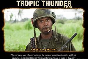Robert Downey Tropic Thunder Quotes. QuotesGram