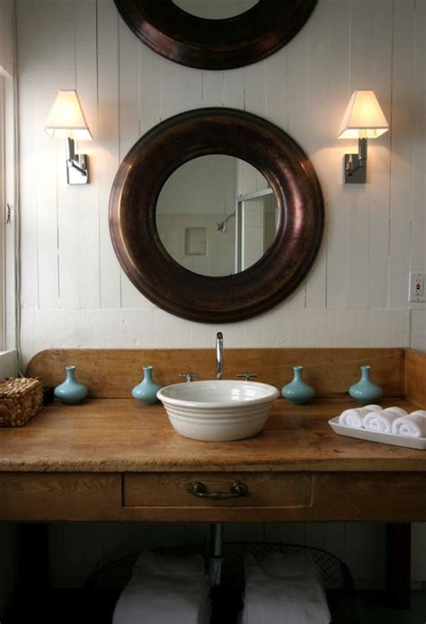 rustic bathroom vvnity cottage bathroom windsor
