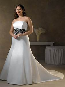 30 black and white wedding dresses combination fashion fuz With black plus size wedding dresses