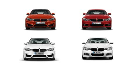 Animated Comparison Between M3/m4 And 3/4 Series M Sport
