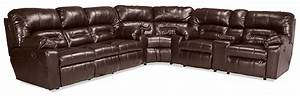 unwind 3 piece reclining sectional java levin furniture With levin furniture sectional sofa
