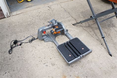 ridgid tile saw water ridgid 8 quot tile saw review model r4040s tools in