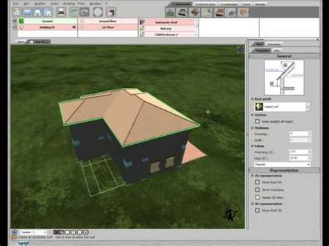 home design  livecad tutorials  roof youtube