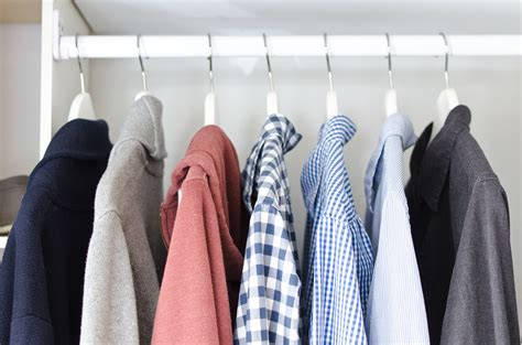 Clothes Wardrobe by Tour My Minimalist Apartment The Minimalists