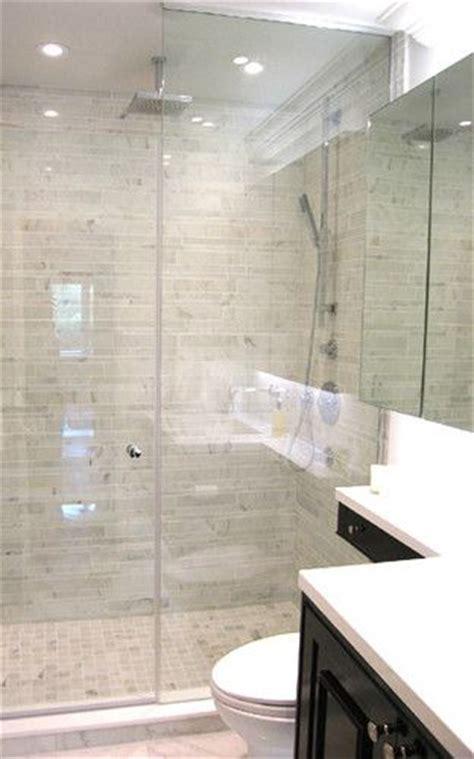 sino carrara contemporary bathroom tile toronto