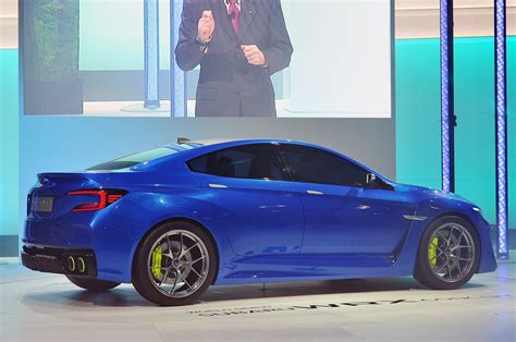 Wrx Concept Styling May Transfer To Production Impreza