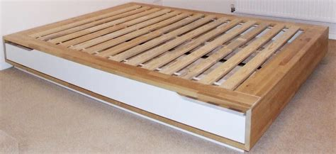 Mandal Ikea Bett by Used Ikea Mandal Bed Frame With Storage Birch White In