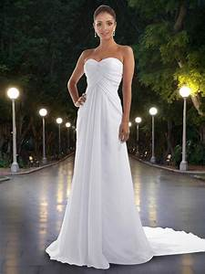 supreme chiffon slim a line gown with strapless sweetheart With i need a dress for a wedding