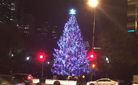 millennium park christmas lights millennium park christmas tree lighting nov 17 chicago