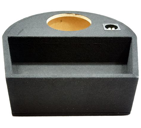 universal fit single 10 quot subwoofer sealed replacement spare tire custom sub box 1x10 sparebox