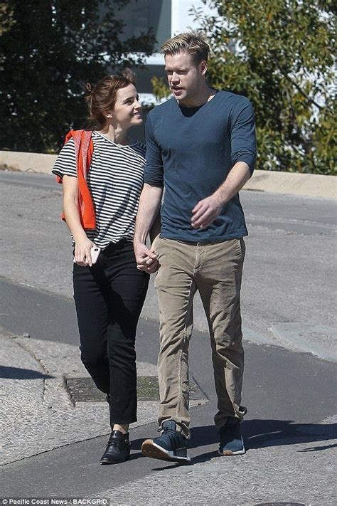 Emma Watson Glee Actor Chord Overstreet Are Dating