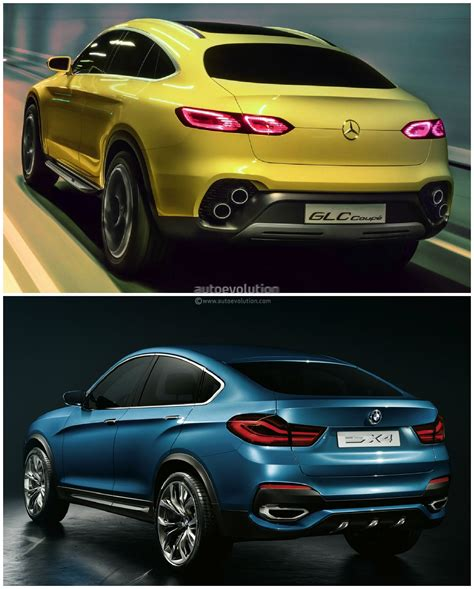 mercedes glc coupe  bmw   sports activity coupe
