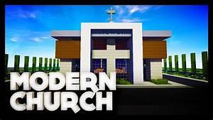 Minecraft - Modern Church - YouTube