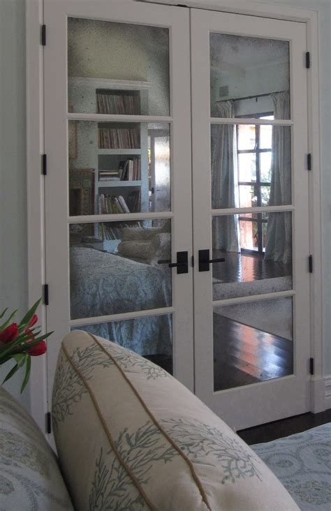 mirrored french closet doors home depot home design ideas