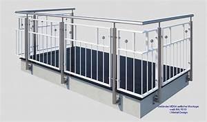 franzosischer balkon md04ap pulverbeschichtet weiss ral9016 With französischer balkon mit schneider sonnenschirme werksverkauf