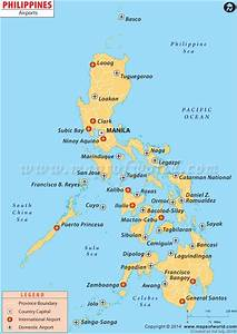 Airport Map of Philippines | lynco | Pinterest | Of ...