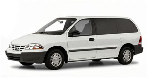 2000 Ford Windstar Standard 3dr Cargo Van Information