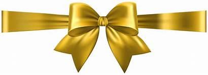 Bow Yellow Clip Transparent Ribbon Deco Clipart