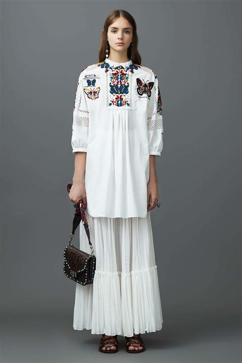 valentino resort  collection spotted fashion