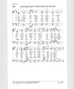 Amazing Grace Lyrics Original
